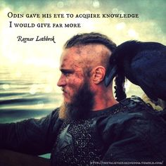 Ragnar the Viking warrior....