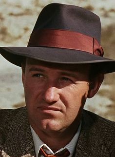 """The role that first brought him to fame: Gene Hackman as Buck Barrow in """"Bonnie & Clyde"""", Hollywood Men, Hollywood Icons, Hollywood Stars, Classic Hollywood, Bonnie Clyde, Brandon Routh, Kevin Spacey, Wow Photo, Iconic Movies"""