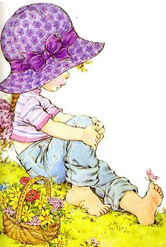 Rea May hat hier gepinnt: Geschenke & Karten sarah kay Sarah Key, Holly Hobbie, Mary May, Decoupage, Cute Images, Illustrations, Cute Illustration, Cute Drawings, Cute Art