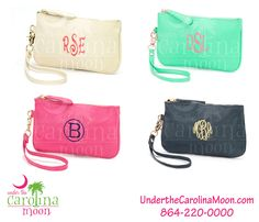 Spring Fashion Wristlets. Have the cutest collection around. Place your order at www.underthecarolinamoon.com  #UTCM #UnderTheCarolinaMoon #FashionWristlet