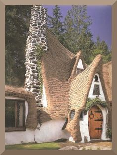 Storybook Architecture | Book review of Storybook Style, America's Whimsical Homes of the ...