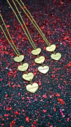6712f629763 Personalized Vertical Heart Name Necklace 925 Sterling Silver - Solo Mio  Italian Jewelry
