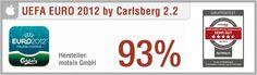 """App-Test: UEFA EURO 2012 TM by Carlsberg - Die iPhone App """"UEFA EURO 2012 TM by Carlsberg"""" bietet einen redaktionellen Live-Ticker, Push-Benachrichtigung sowie einen Spielplan und eine Tabelle zur Fußball-Europameisterschaft 2012. Ebenfalls enthalten sind ein News- und ein Videobereich, aber auch umfassende Statistiken zu Toren, Vorlagen und Karten. Weitere Infos auf unserem Portal: http://www.apptesting.de/"""