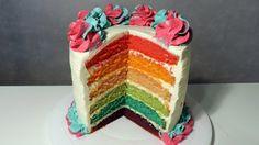 Recette du Rainbow Cake (English subtitles) - William's Kitchen
