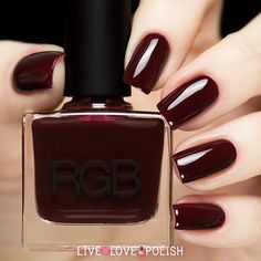 RGB Oxblood Nail Polish (Core Collection) | Live Love Polish
