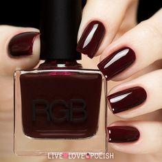 RGB Oxblood Nail Polish (Core Collection) | Live Love Polish