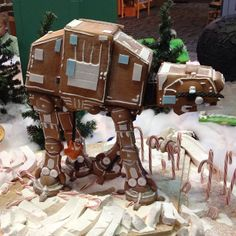 Gingerbread AT-AT by Official Star Wars Blog, via Flickr