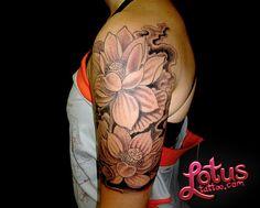 Hawaiian Flower Tattoo   Hawaiian Flowers Tattoos - Lotus flower tattoos - Designs and Ideas