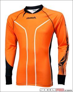 Reusch Tribal Pro-Fit Goalkeeper Jersey - Orange with Black...$62.99