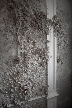 Georgy's wall photos - Diy Wallart Plus Plaster Art, Plaster Walls, Sculpture Painting, Wall Sculptures, Bedroom Murals, Wall Murals, Indian Home Interior, 3d Wall Art, Motif Floral