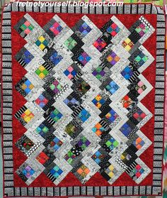 Four-Patch Log Cabin Quilts | Fret Not Yourself