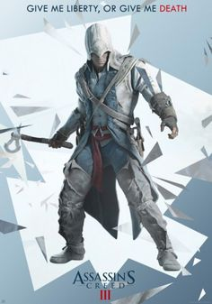 Assassin's Creed 3 poster Liberty http://www.abystyle-studio.com/en/assassin-s-creed-posters/136-assassin-s-creed-3-poster-liberty.html