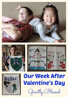 Greatly Blessed: Our Week After Valentine's Day #homeschool