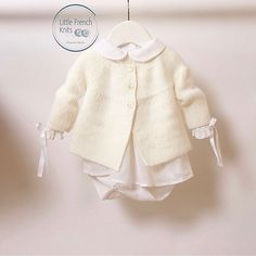 Ravelry: 47 / Baby Jacket pattern by Florence Merlin
