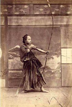 Japanese Archer, 1870.