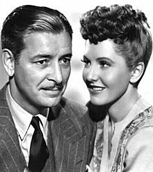 Jean Arthur with Ronald Colman in Talk of the Town (1942)