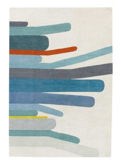 HOMEGROWN BLUE  Edward Barber & Jay Osgerby  Contemporary rugs  Wool  £665  per m2