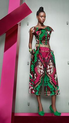 Vlisco collection Woven Wisdom - Pagnifik: