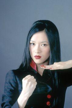 Asian Celebrities, Asian Actors, Zhang Ziyi, Star Trek Crew, Action Movie Stars, Martial Arts Workout, Rush Hour, Martial Artists, Female Portrait