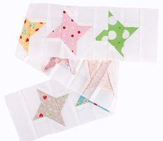Quilty Fun Sew Along: Twinkly Winter Stars