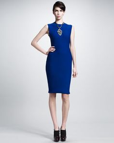 You have to check out the back of this beautiful dress by Lanvin .