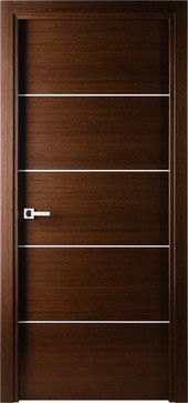room door designs. Mia Interior Door Wenge - Contemporary Doors New York By And Beyond Room Designs