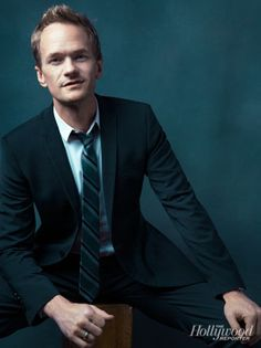 Neil Patrick Harris at THR's Comic-Con Photobooth