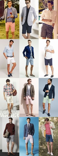 ⚜ Asesoría de imagen (hombres)... Spring/Summer Shorts Guide: The Tailored Short Lookbook Inspiration