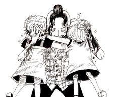 「ナミ・・・ノジコ・・・大好き…!!」