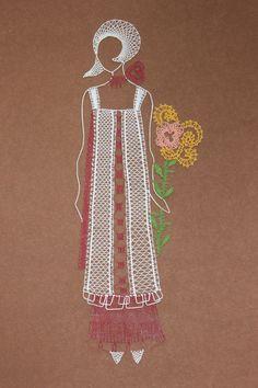 Teneriffe, Bobbin Lace Patterns, Embroidery Patterns, Lace Heart, Lace Jewelry, Needle Lace, Lace Making, String Art, Lace Detail