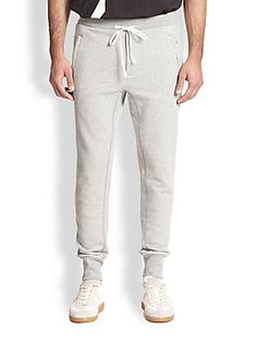 3.1 Phillip Lim French Terry Slim-Fit Track Pants