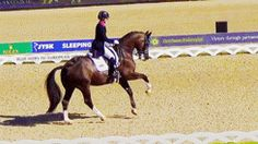 This is my favorite dressage move!