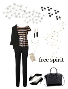 """Free Spirited Office Attire!"" by campanellinoo on Polyvore featuring INC International Concepts, WALL, Damsel in a Dress, Alice + Olivia, Wet Seal, Blue Nile, maurices and Givenchy"