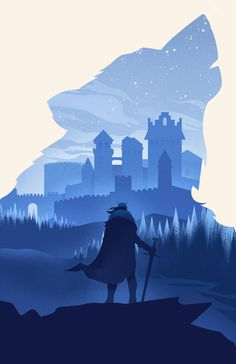 Game of Thrones Stark Winterfell Wolf Art Print Silhouette Poster 11 x 17 Related Post Pin for Later: The Game of Thrones Cast Singing . Daenerys Targaryen HBO Game of Thrones Cast Brooch. Game of Thrones Season 6 New Characters Game Of Thrones Artwork, Game Of Thrones Fans, Game Of Thrones Decor, Game Of Thrones Tattoo, Game Of Thrones Series, Casa Stark, Ned Stark, House Stark, Game Of Throne Poster