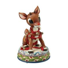 Rudolph Jim Shore Christmas from Enesco Rudolph with Reins & Bells Musical 8.4 IN by Enesco, http://www.amazon.com/dp/B002G7JI6M/ref=cm_sw_r_pi_dp_YmlKqb0JXVQXS