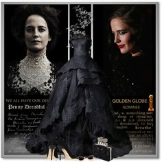 Eva Green for Penny Dreadful by petri5 on Polyvore featuring moda, Jimmy Choo, Alexander McQueen and Pomellato