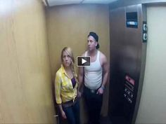 Extremely Scary Ghost Elevator Prank -- This is VERY Funny, I Got A Big Belly Laugh Form It