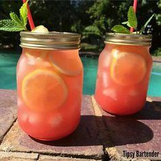Spiked Watermelon Mint Lemonade