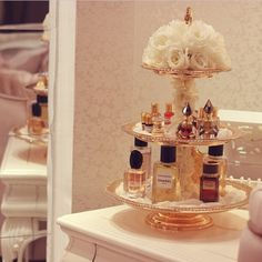 perfume in the bathroom