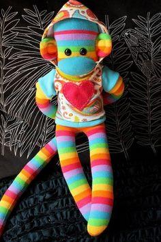 sock craft doll