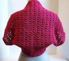 Ravelry: Tekko Shrug pattern by Kristina Olson