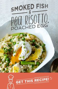 This smoked fish and pea risotto is a classic. The smoky, slightly salty flavour of our smoked basa is perfectly accompanied by our sweet garden peas and spring onions. You'll get a perfectly creamy risotto without adding a drop of cream, and the oozing yolk from the poached egg will add a touch of indulgence. Smokin'!