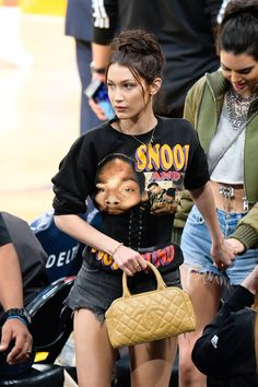 Kendall Jenner and Bella Hadid Bring Model-Off-Duty Style to the Court  - HarpersBAZAAR.com