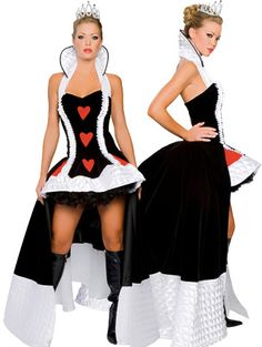 Sexy Adult Queen Of Hearts Costume