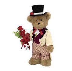 Hartley-the-Boyds-Valentines-Day-Bear-Retired-Danbury-Mint-NIB-NEW