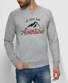 Sweat Homme Je suis une Aventure Gris by Monsieur TSHIRT Vêtements Harry  Potter, Look Homme 0b62d233e62d