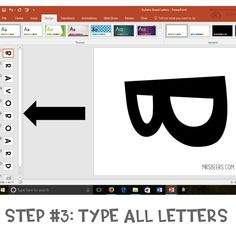 Using powerpoint and favorite fonts to make the most of your bulletin boards and other classroom displays this school year. Easy Bulletin Boards, Inspirational Bulletin Boards, Counseling Bulletin Boards, Science Bulletin Boards, Bulletin Board Letters, Science Classroom, Classroom Resources, Preschool Bulletin, Teacher Resources