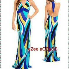 Brand new sexy long maxi prom summer dress sexy Brand new.  Lightly padded. Form fitting . Lightweight stretchy fabric. boutique Dresses