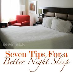 7 Tips For a Better Night Sleep #ad #CommitToSleep