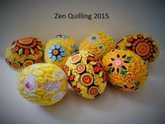 2015 - My own original designs - Facebook.com / Zen Quilling